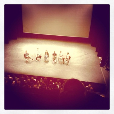 Q&A @ The Royal Opera House after Ballet Black's rehearsal
