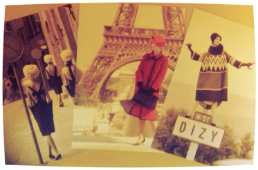 The same 3 postcard designs left in Paris