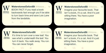waterstones tweets
