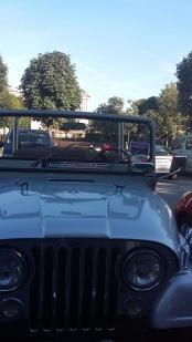 Jeep near Bundesgarten, Vienna